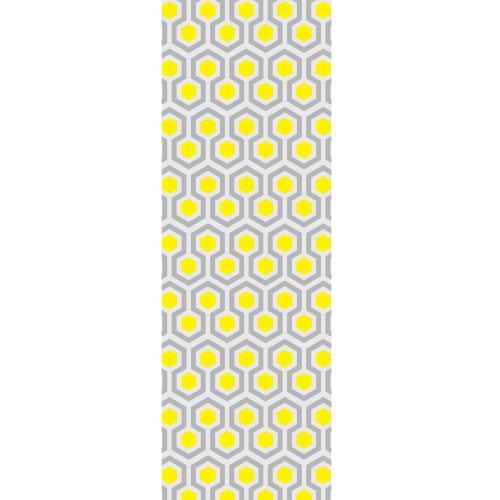 achat le avec motifs jaune gris