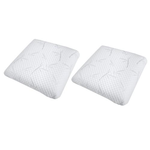 achat lot de 2 oreillers memoire de forme