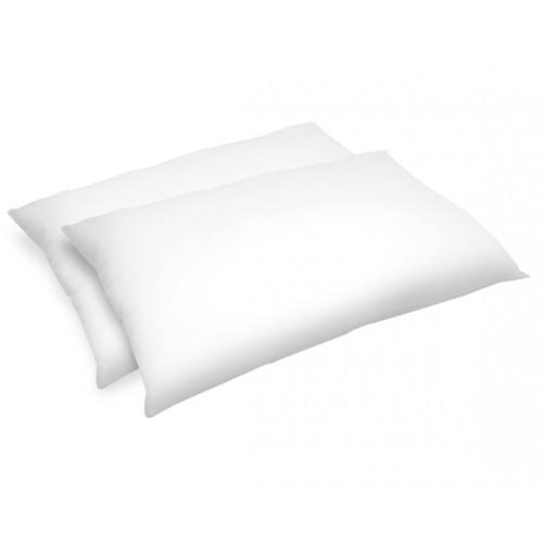 Oreiller Confort moelleux synthétique 50x70 cm (lot de 2)
