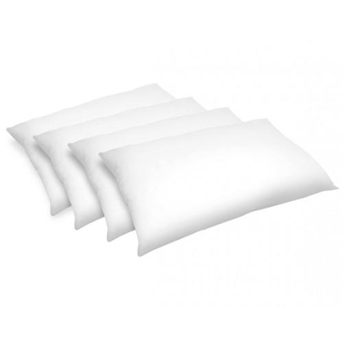 Oreiller Confort moelleux synthétique 50x70 cm (lot de 4)
