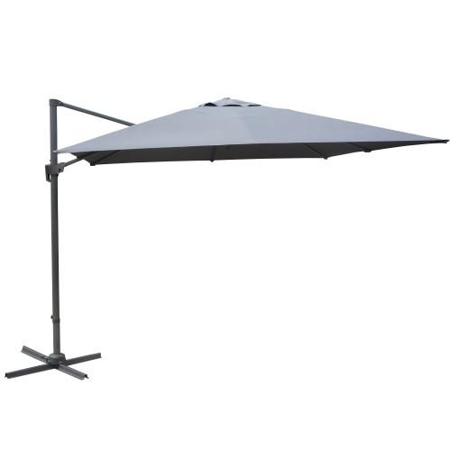 achat parasol gris de jardin