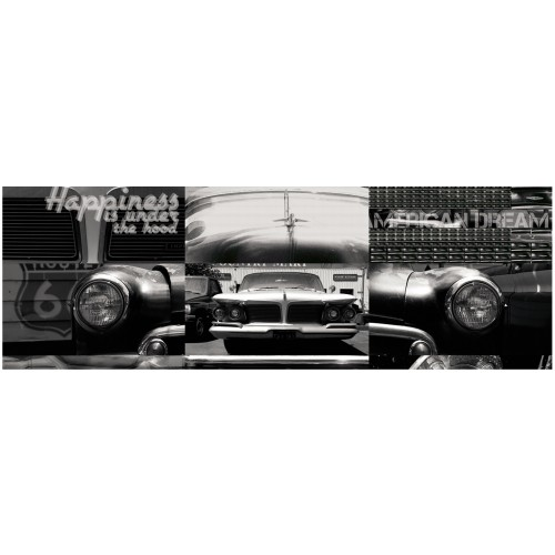 achat poster horizontal 150x50 cm voiture