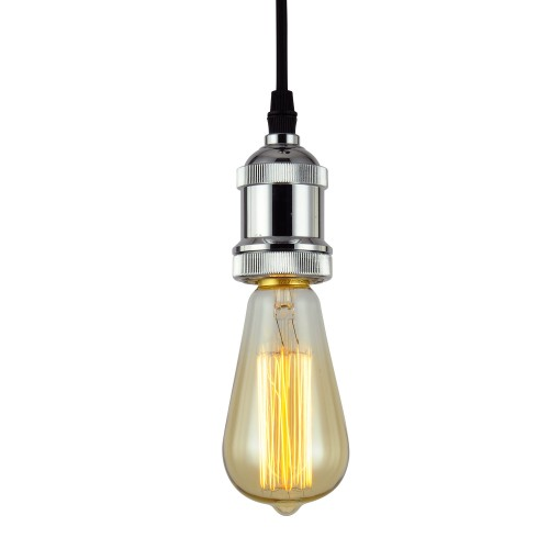 Suspension Thya chrome (ampoule incluse)