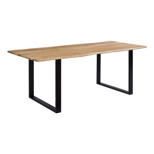 achat table 200 cm plateau bois