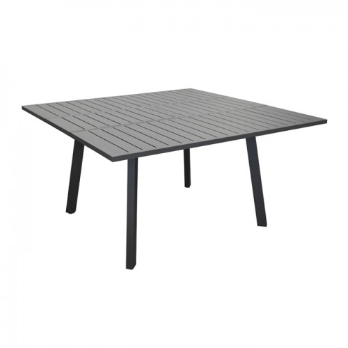 Table de jardin Barcelona extensible grise 100/145cm