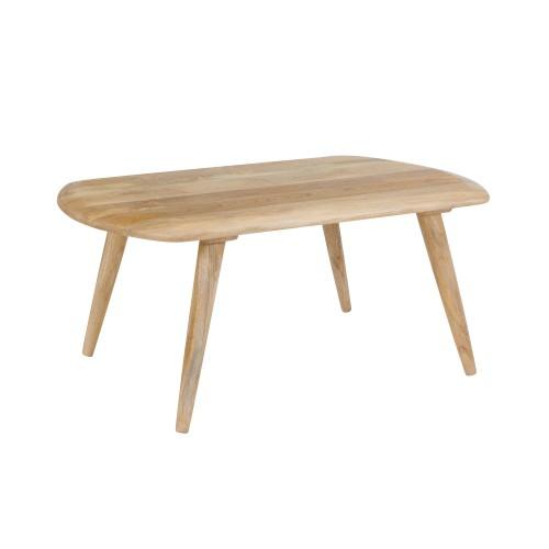 Table basse Vivi en bois de manguier