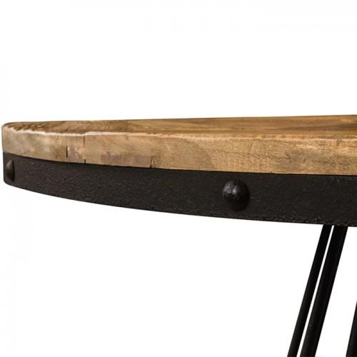 Table Pralus Ronde En Bois 110 Cm Commandez Les Tables Pralus
