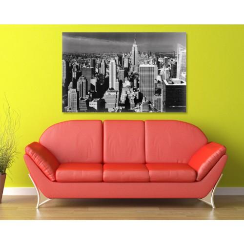 achat tableau de new york noir et blanc design