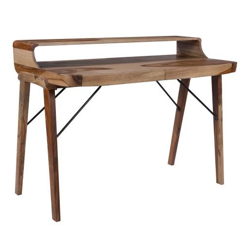 acheter bureau en bois vintage