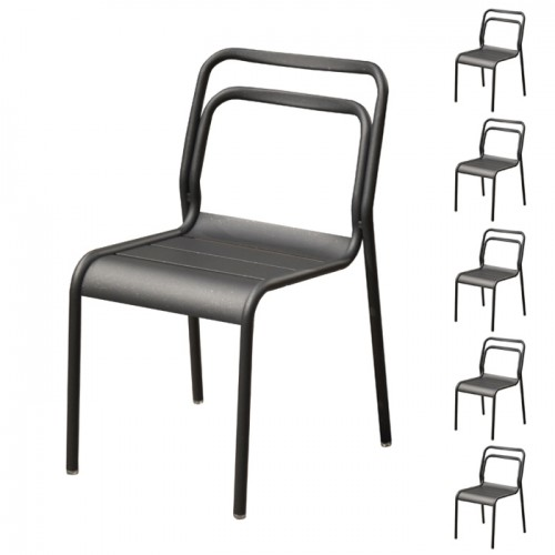 acheter chaise confortable en aluminium