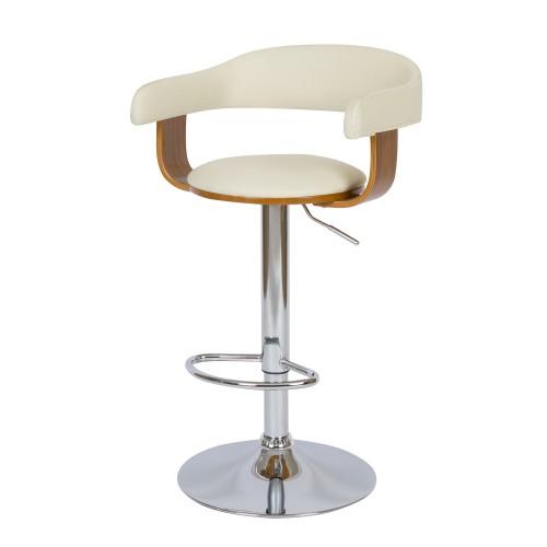 acheter chaise de bar blanche pieds metal