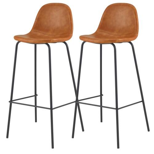 acheter chaise de bar camel 75 cm