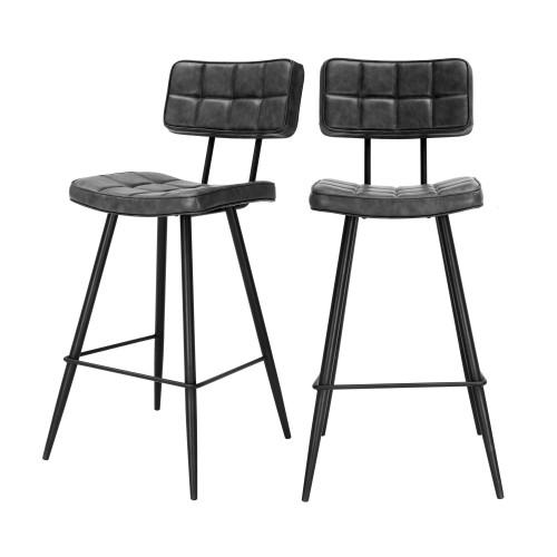 acheter chaise de bar capitonnee