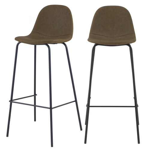 acheter-chaise-de-bar-kaki-75-cm-hauteur