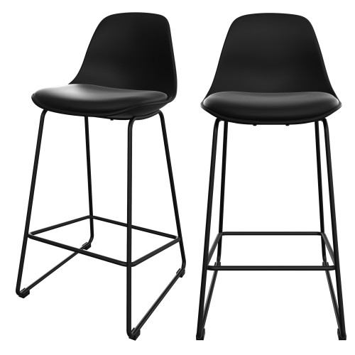 acheter chaise de bar noires scandi pratiques