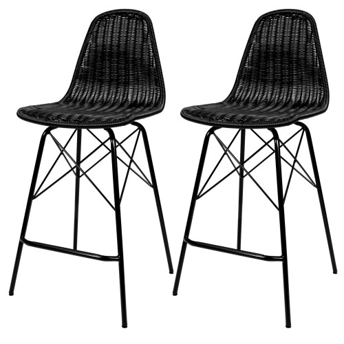 acheter chaise de bar noires