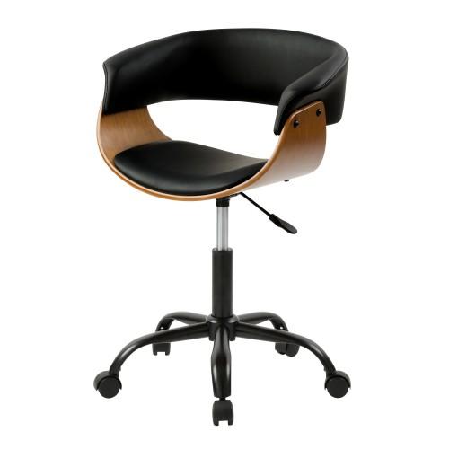 acheter chaise de bureau sur roulettes noire