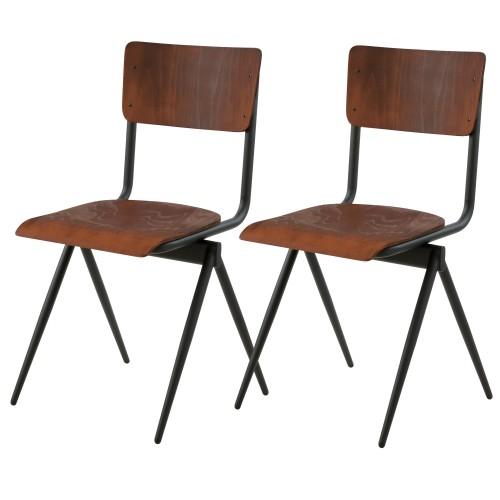acheter chaise ecolier lot de 2