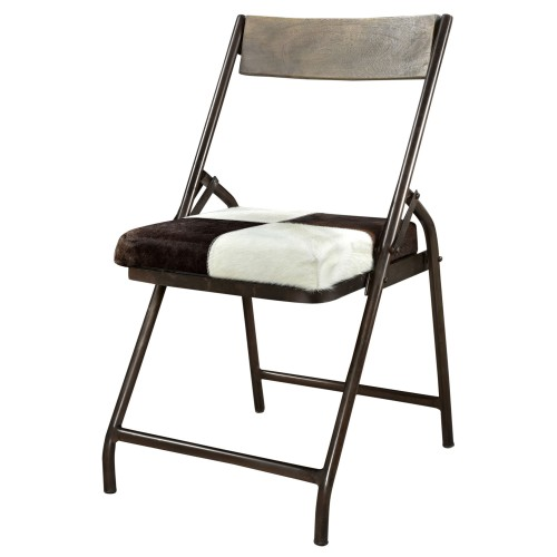 acheter chaise en cuir de vache