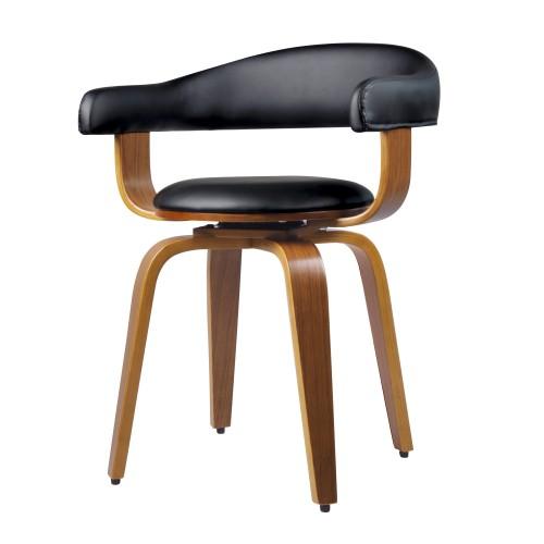 acheter chaise en synthetique noire