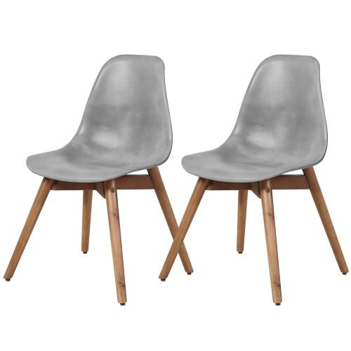 acheter chaise forme scandinave beton
