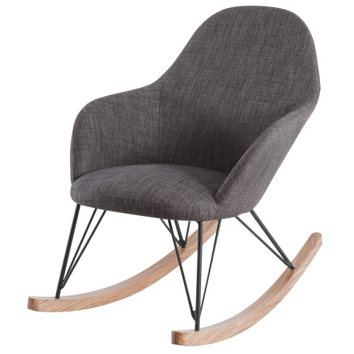 acheter chaise rocking chair taupe
