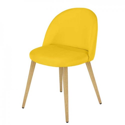 Chaise Cozy jaune