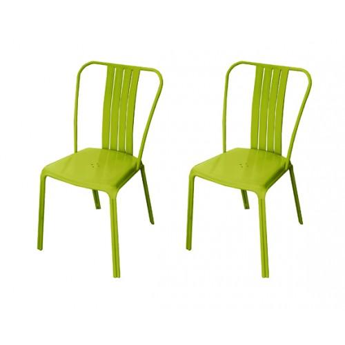 acheter chaise verte moderne prix usine