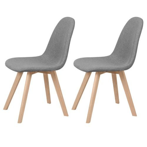 acheter chaises grises scandinaves
