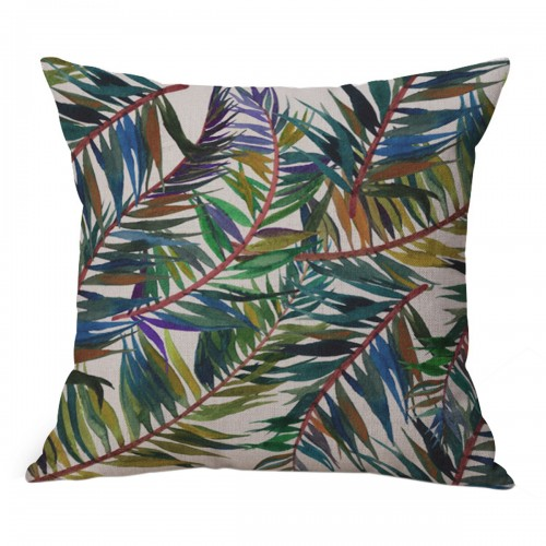 Coussin Jungle coloré