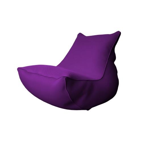Coussin lounge Mirissa aubergine
