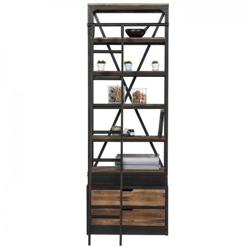 acheter etagere industrielle en metal et bois