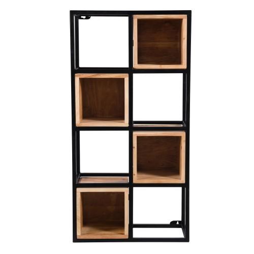 acheter etagere murale bois et metal
