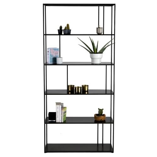 acheter etagere noire en metal design