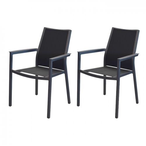 acheter fauteuil de jardin noir