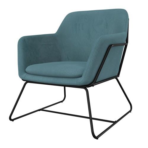 acheter fauteuil en velours collection