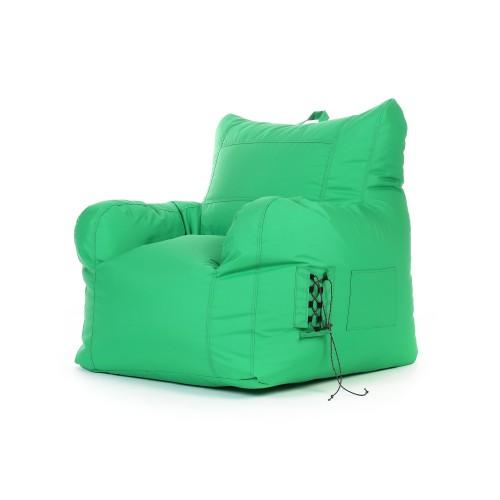 Fauteuil Noda intérieur/extérieur vert