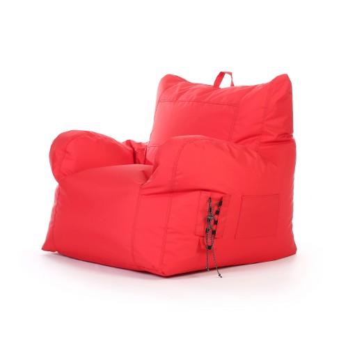 Fauteuil Noda intérieur/extérieur rouge