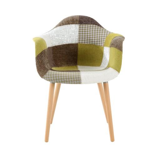 acheter fauteuil scandinave vert