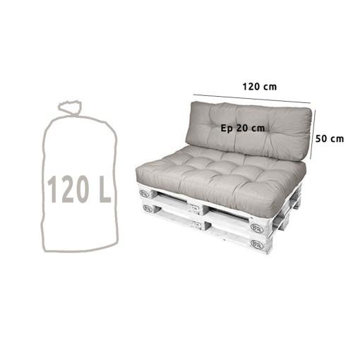 Flocons de mousse (garnissage / rembourrage) 120L