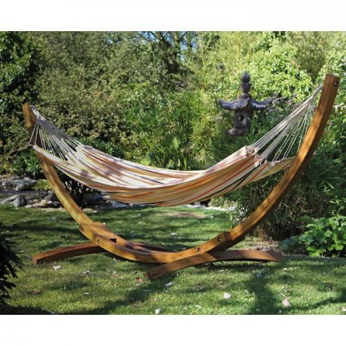 acheter hamac raye multicouleur confortable