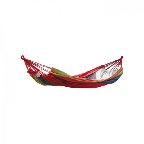 acheter hamac rouge raye confort