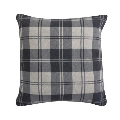 acheter housse de coussin grise confortable