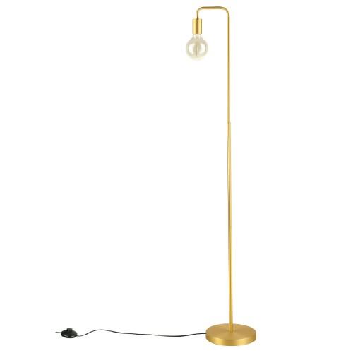 acheter lampadaire dore