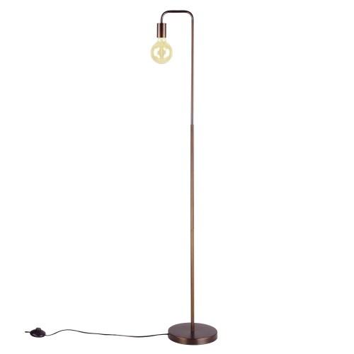 Lampadaire Ysé bronze (ampoule incluse)