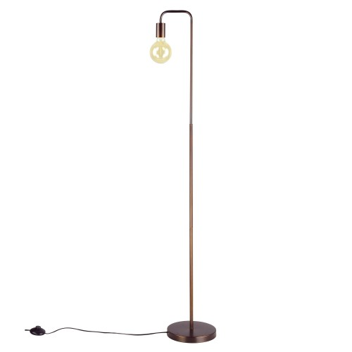 acheter lampadaire metal finition bronze