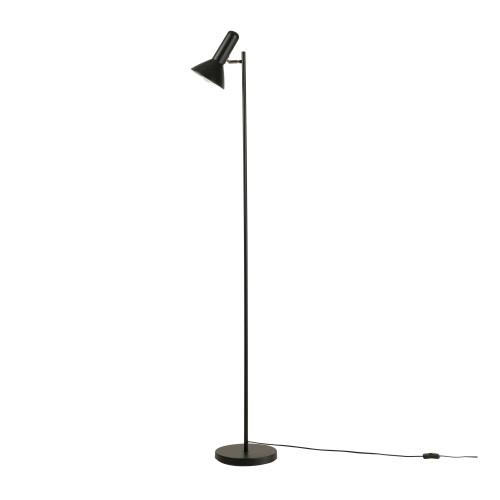Lampadaire Giulia en métal noir H165cm