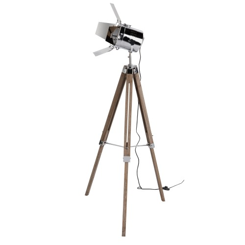acheter lampadaire trepied projecteur metal pas cher