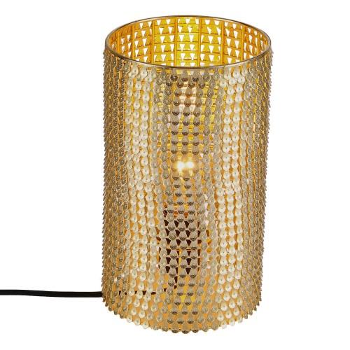 acheter lampe ethnique doree