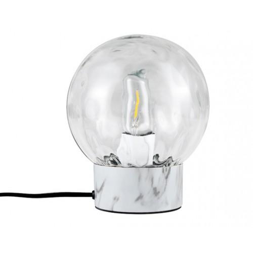 Lampe à poser Sibylle marbre (ampoule incluse)
